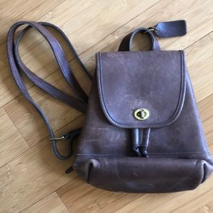 Vintage Couch  backpack/ purse